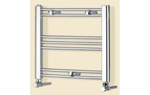 Chrome Heated Towel Rail Radiator